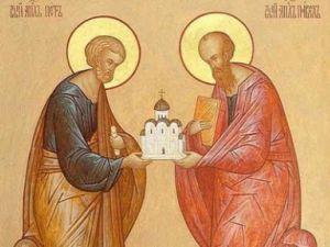Хто такі апостоли Петро і Павло?