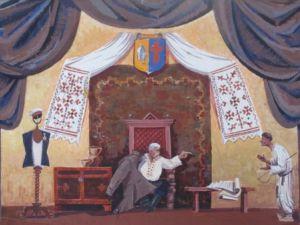 Ескіз портрета Миколи Добролежі