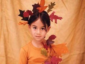 Костюм на праздник Осени своими руками