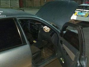При огляді салону машини патрульні виявили наркотики