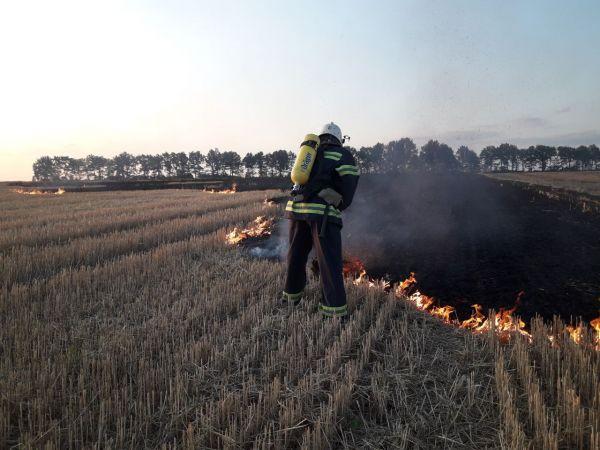 Минулої доби рятувальники Кіровоградщини приборкали чотири займання