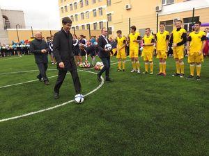 У Кропивницькому відкрили футбольне міні-поле зі штучним покриттям (ФОТО, ВІДЕО)