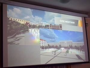 Сухий фонтан у вигляді арки. Якою буде центральна площа у Кропивницькому?