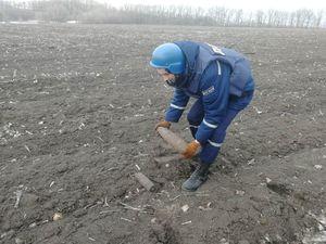 Кіровоградщина: Піротехніки знищили боєприпаси часів Другої світової