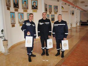 У патріотичній акції «Естафета поколінь» відзначили трьох рятувальників Кіровоградщини