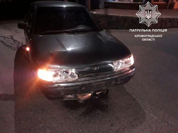 У Кропивницькому зіштовхнулися дві  автівки (ФОТО)