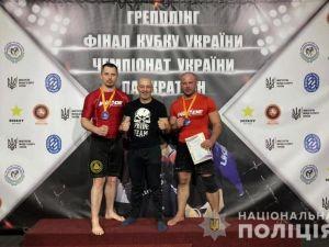 Дільничний із Кіровоградщини здобув «бронзу» на фіналі Кубку України з грепплінгу