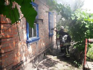 Кіровоградська область: Горять очерет і трава