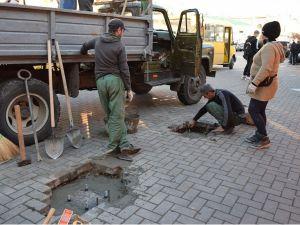 """Зупинку «Центральний ринок» у Кропивницькому """"облагородять"""""""