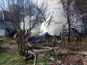 Як на Кіровоградщині пожежники рятують майно громадян