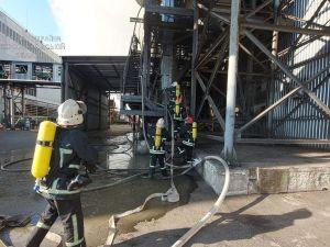 Кропивницький: рятувальники ліквідували пожежу на підприємстві