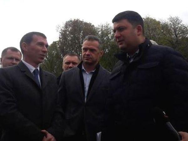На Кіровоградщину прибув прем'єр-міністр України Володимир Гройсман