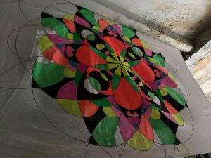 Flowers and Scales: у Кропивницькому відкрилася виставка робіт в українсько-індійському стилі (ФОТО)
