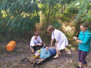 На Кіровоградщині бабуся заблукала та потрапила до ями  (ФОТО)