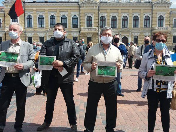 У Кропивницькому громада вийшла на майдан проти реваншу (ФОТО)