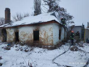 Новгородка: Рятувальники приборкали пожежу у покинутому будинку