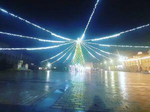 У Кропивницькому головна ялинка міста вже готова до святкування Нового року (ВІДЕО)