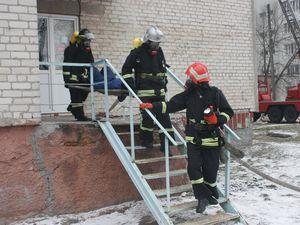Кропивницькі рятувальники відпрацьовували професійні навики в обласній лікарні (ФОТО)