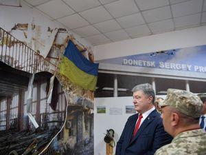Президент відвідав музей  3-го полку спецназу