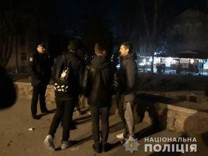 У Кропивницькому поліцейські відпрацювали місця масового відпочинку молоді