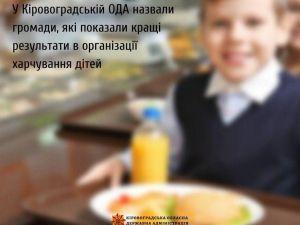 Де на Кіровоградщині добре харчуватимуть школярів?