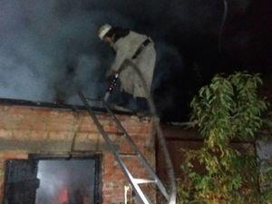 В Олександрії рятувальники приборкали пожежу в житловому секторі