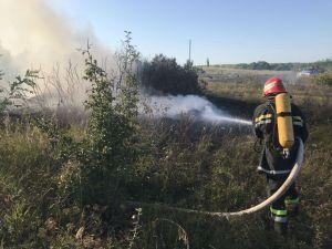 На Кіровоградщині рятувальники загасили п'ятнадцять пожеж