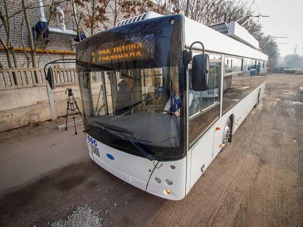 До Кропивницького прибули три тролейбуси з автономним ходом