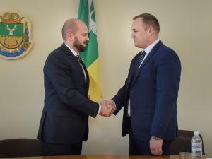 Андрій Балонь представив мешканцям Олександрівщини нового голову РДА