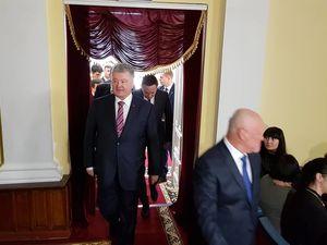 До Кропивницького прибув Президент України Петро Порошенко (ФОТО)