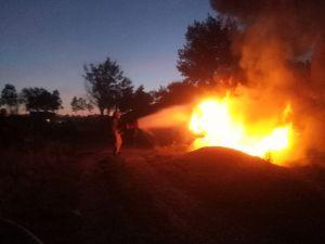 В області на вихідних загорілись дві автівки