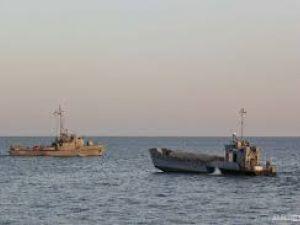 Українські кораблі проводять навчання Бузько-Дніпровському лимані