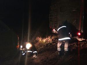 Кіровоградщина: Біля Великої Виски на ґрунтовій дорозі застряг автофургон