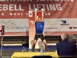 Кропивницький спортсмен успішно виступив на чемпіонаті світу з гирьового спорту