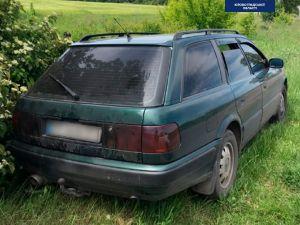 У Кропивницькому п'яний водій намагався втікти від поліції до лісу