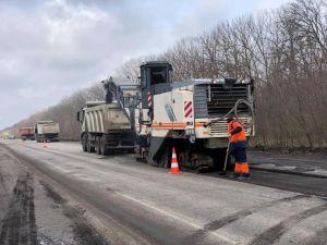 На Кіровоградщині стартував ремонт траси, що поєднує схід і захід України