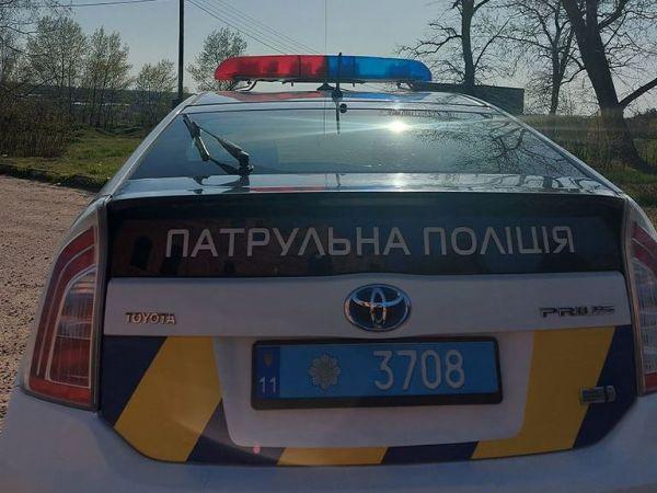 У Кропивницькому п'яний водій іномарки тікав від патрульних (ВІДЕО)