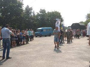У Кропивницькому попрощалися з загиблим воїном Михайлом Яровим (ФОТО)