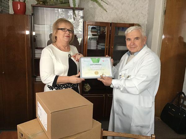 ПриватБанк вручив сучасне медобладнання Кіровоградській обласній дитячій лікарні