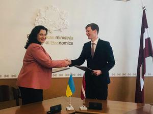 Україна та Латвія посилять співпрацю у сфері транспорту та логістики, сільського господарства, IT-технологій