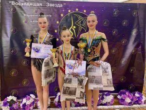 Юні кропивницькі гімнастки здобули медалі на всеукраїнських турнірах