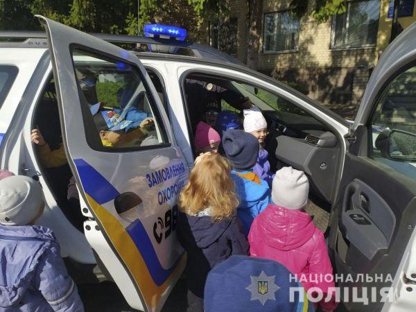 """Кропивницький: Чому навчали поліцейські малят з дитсадка """"Золотий ключик""""?"""