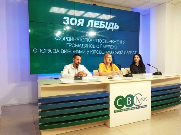 Кіровоградщина: 12 партій стартували раніше, ніж сама кампанія
