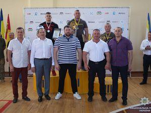 Сергій Кондрашенко  на змаганнях із жиму лежачи встановив рекорд України