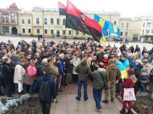 За перемогу! Кропивницькі активісти налаштовані рішуче (ФОТО, ВІДЕО)