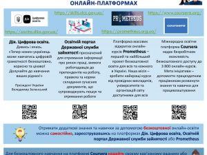 Безробітні Кіровоградщини можуть безкоштовно пройти онлайн-курси