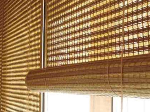 Римские жалюзи из бамбука — создайте уникальный микроклимат