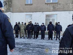 Правоохоронців із Кіровоградщини, які несуть службу на сході, привітали з новорічними святами