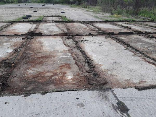 Кропивницький: Андрій Максюта коментує ситуацію з вивозом плит з аеропорту