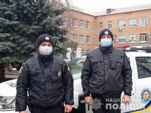 Поліцейскі врятували чоловіка, який поранився болгаркою